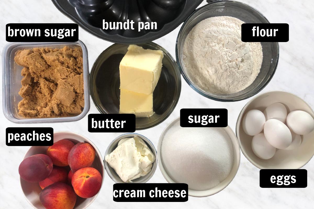 peach cobbler pound cake recipe ingredients