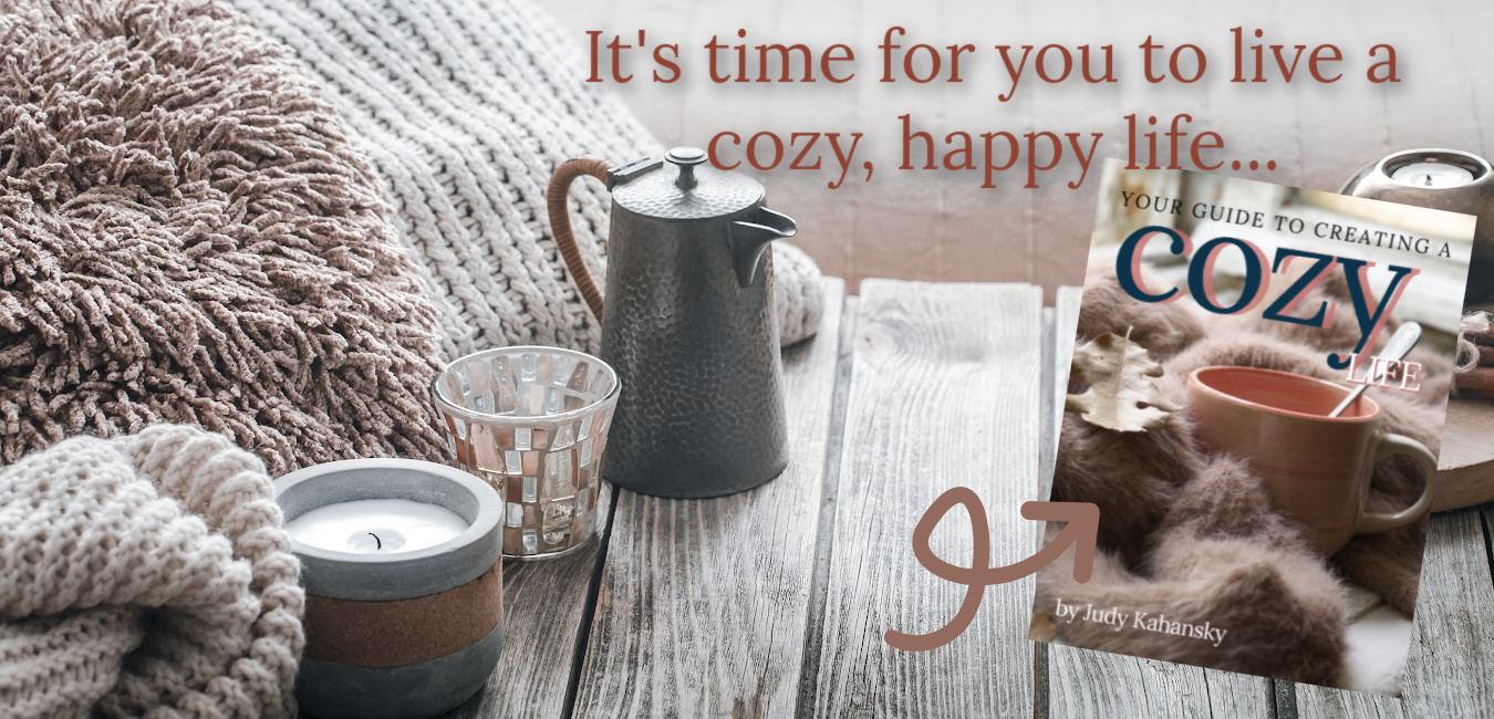 cozy afternoon with coffee blanket